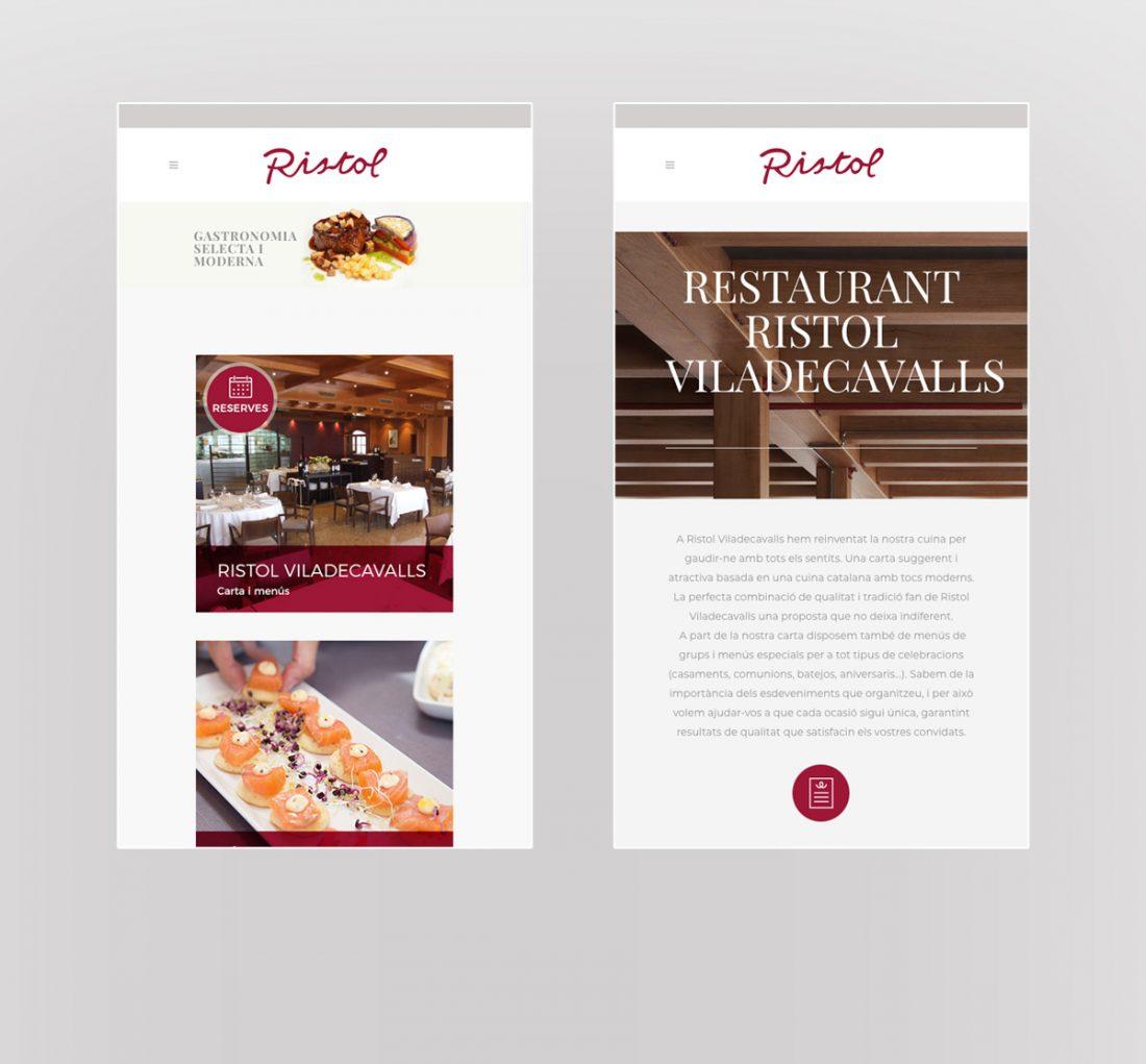 disseny web Ristol