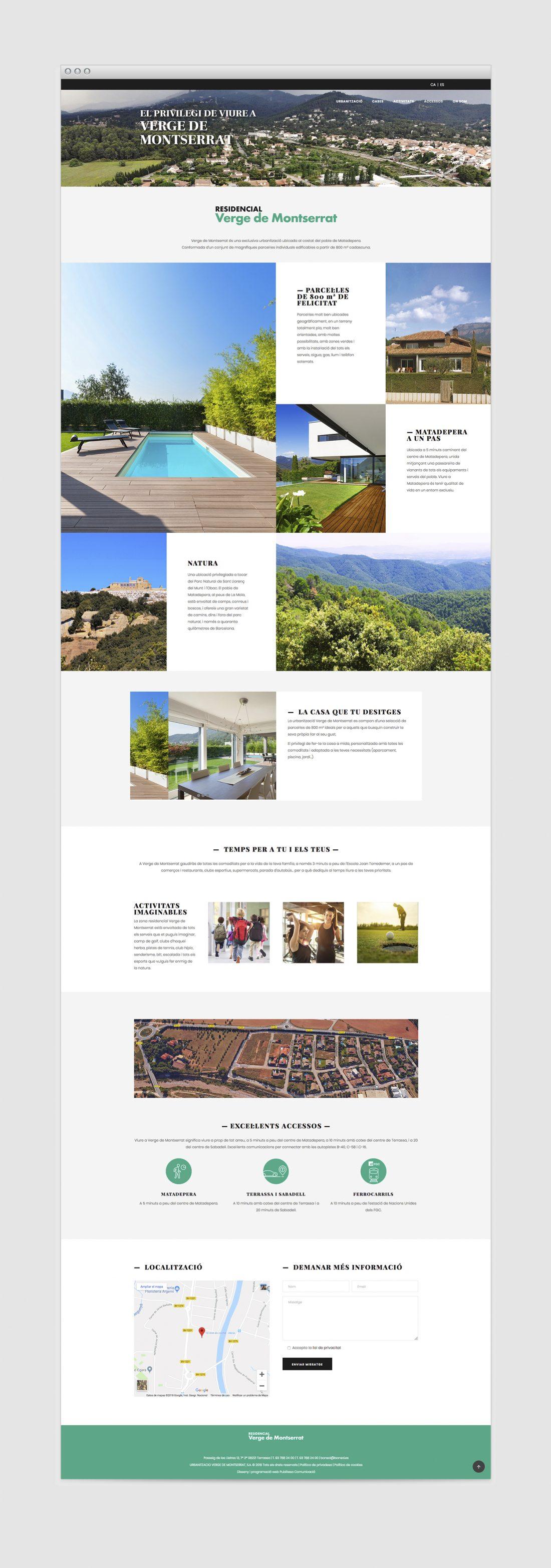 Landing Page campanya SEM